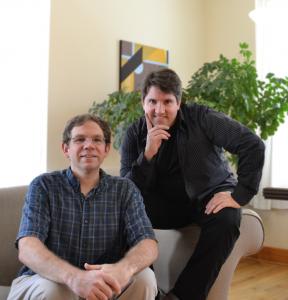 Justin Scheef (left) and Erik Macenas of Prolifix Design.