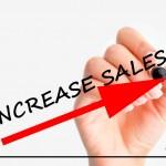 Increase sales sign