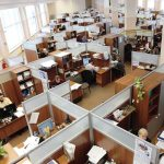 Cubicles are old hat to millennials; they prefer more wide-open workspaces.